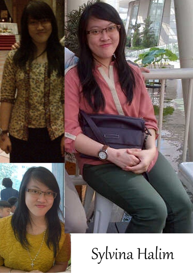 She is me Katarina Sylvina Halim. Nice to meet you, guys :D God bless you now and forever!