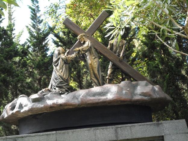 Yesus berjumpa dengan Maria, IbuNya.