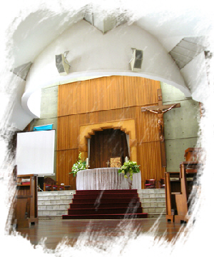 Bagian dalam (Altar)